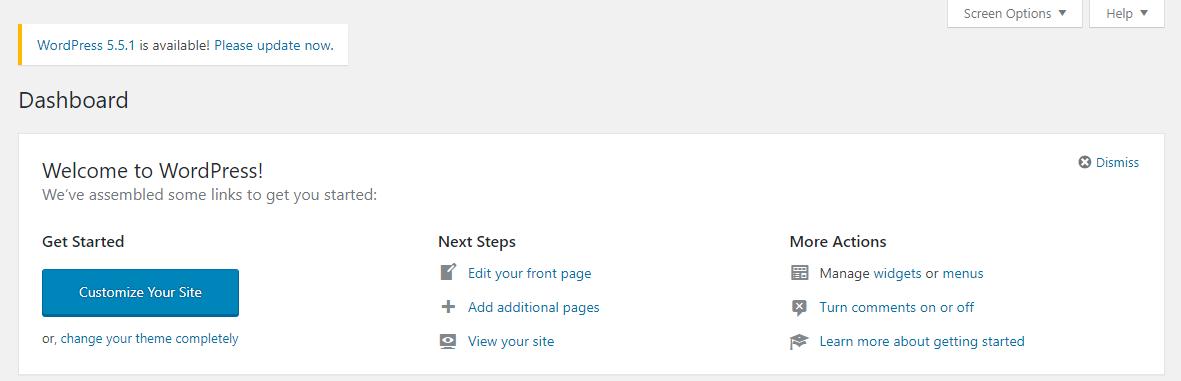 تحديث ووردبريس لزيادة سرعة الموقع